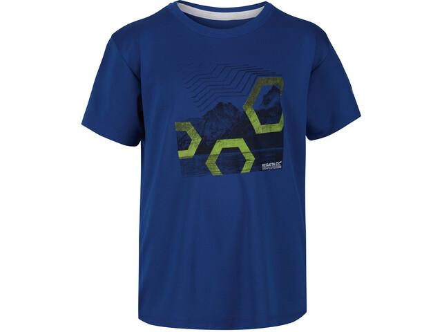 Regatta Alvarado V Camiseta Niños, nautical blue